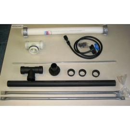 Kit B de raccordement, pour citerne fuel polyéthylène renforcée avec renforts métalliques