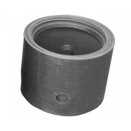 Amorce de regard + réhausse boulonnée de 500 à 800 mm + trappe aluminium cadenassable pour RESERVE INCENDIE