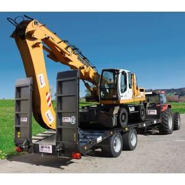 Remorque porte-engins 15900 kg homologuée route