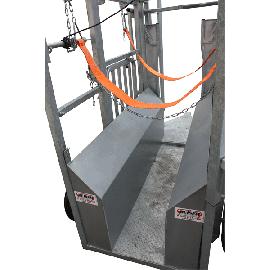 Réducteur de largeur pour métier à bovin tracté + barre anti recul