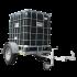 Beiser Environnement - Citerne PVC CUBITENAIRE sur châssis, capacité 1000 litres