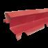 Beiser Environnement - Faitière double crantée ventilée brun rouge RAL8012