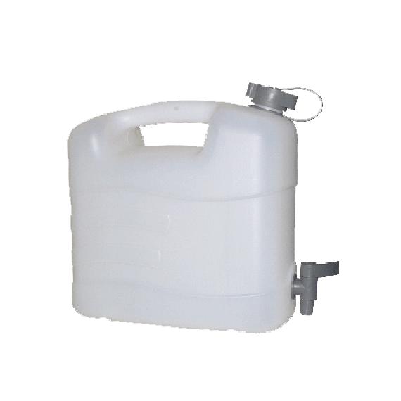 Jerrycan en polyethylène pour eau alimentaire 20 litres