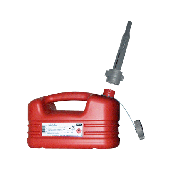 Jerrycan en polyethylène pour carburant 5 litres