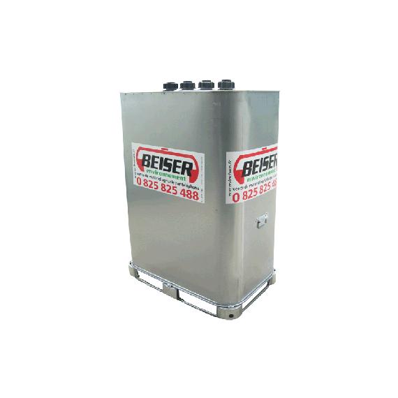 """Citerne stockage et transport (VET) 700 litres avec limiteur de remplissage 2"""""""
