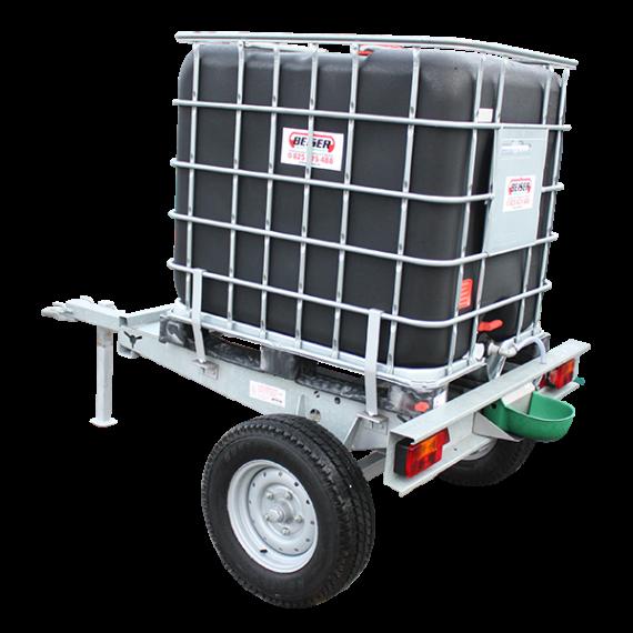Cubi 1000 litres sur châssis galvanisé