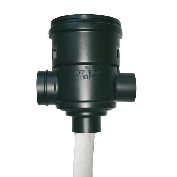 Filtre à eau de pluie (jusqu'à 150 m²)
