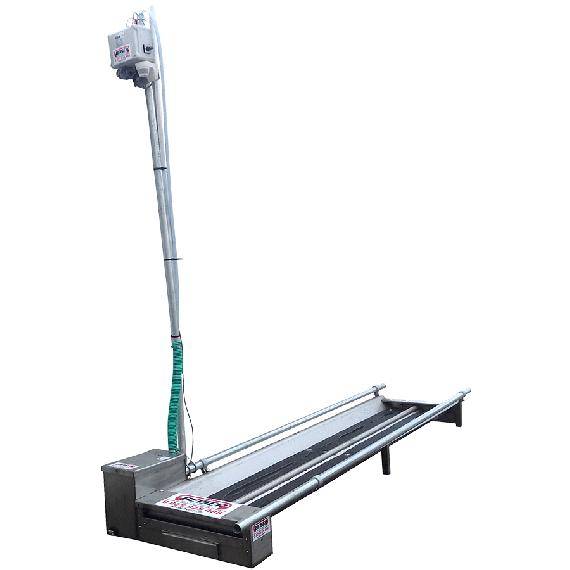 Pédiluve à déclenchement automatique (pompe côté droit)
