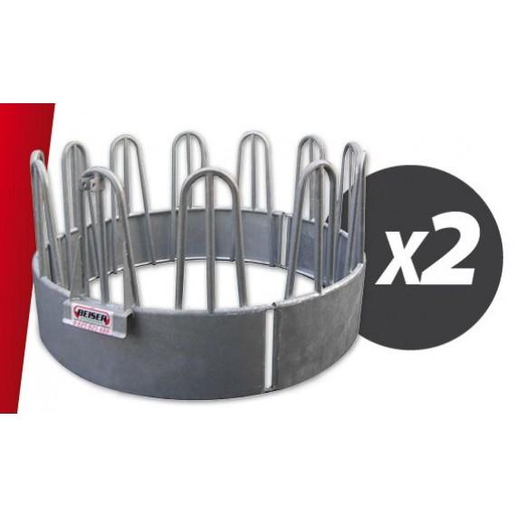 Kit 2 râteliers circulaire à arceaux