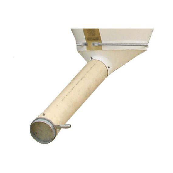 Cône déporté avec 3 m de tuyau rigide Ø 250