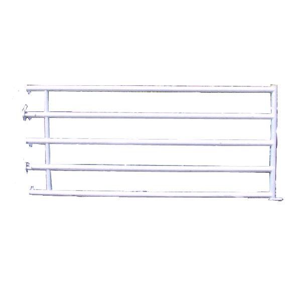 Barrière de stabulation 5 tubes arrière 2,50 m (3/4)