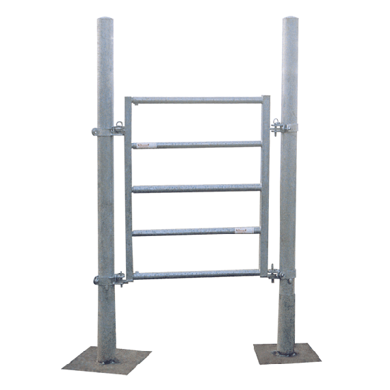 Portillon de service - largeur de 0,70 à 1,05 m