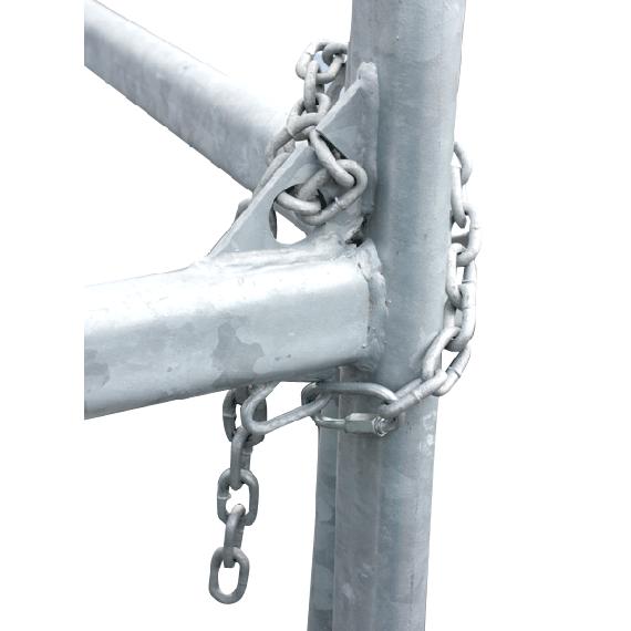 Fixation pour barrières TEXAS