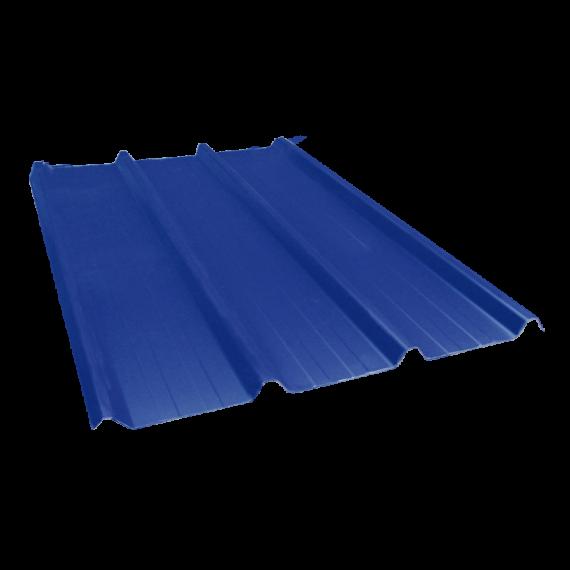 Tôle nervurée 45-333-1000, 60/100e bleu ardoise - 4 m