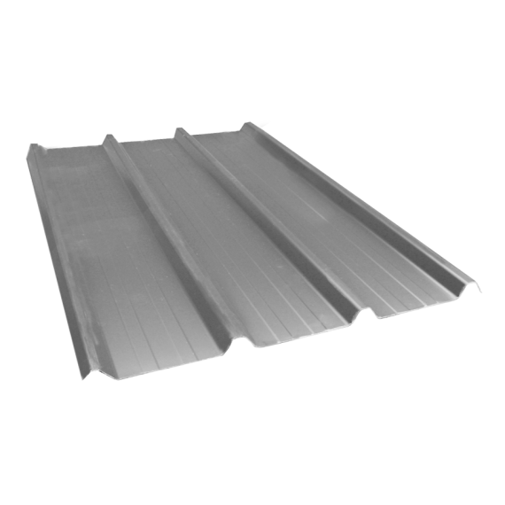 Tôle nervurée 45-333-1000, 60/100e galvanisée - 2,5 m