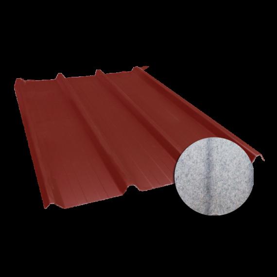 Tôle nervurée 45-333-1000, 60/100e régulateur de condensation brun rouge - 4,5 m