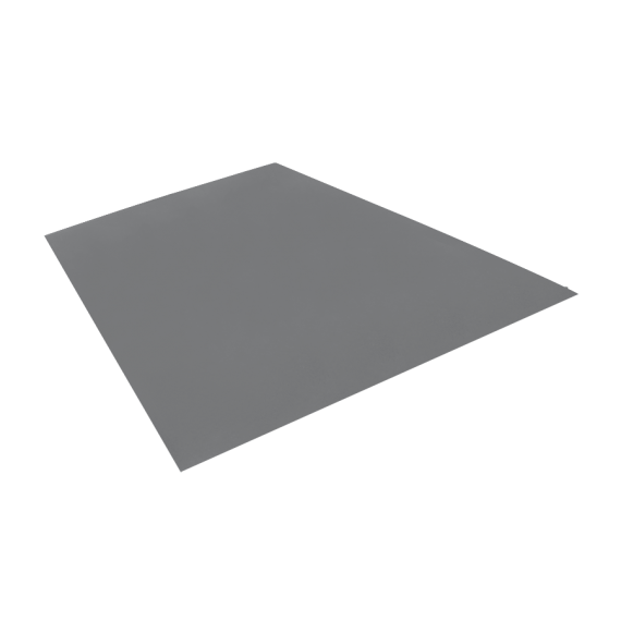 Tôle plane, galvanisée, 1,22 x 2 m