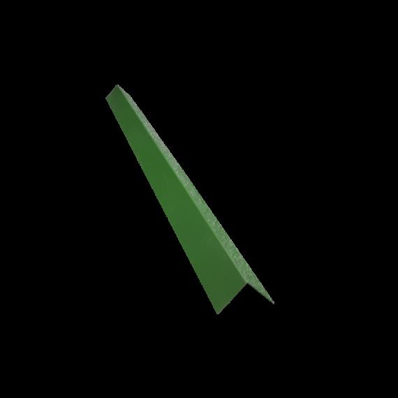 Angle de bardage 100/100, vert reseda RAL6011