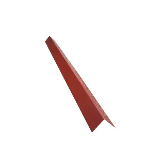 Angle de bardage 150/150, brun rouge RAL8012