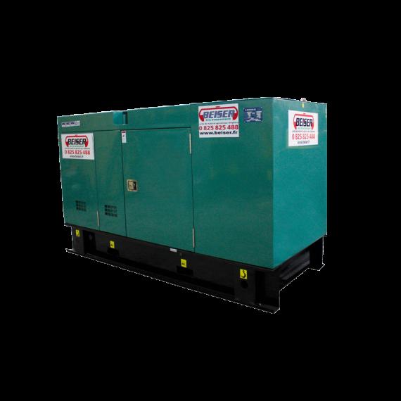 Groupe électrogène diesel silencieux 36 kW / 45 kVA