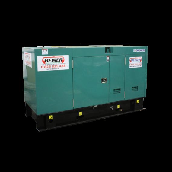 Groupe électrogène diesel silencieux 64 kW / 80 kVA
