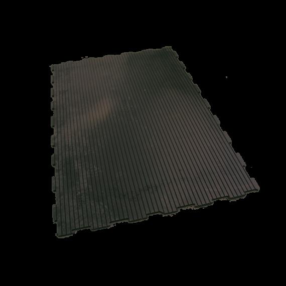 Tapis caoutchouc PUZZLE LISSE 116,3 cm x 77,5 cm 10 mm