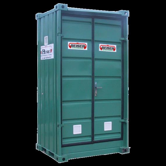 Cellule de stockage pour produits phytos haute peinte n°1, pour 1 palette