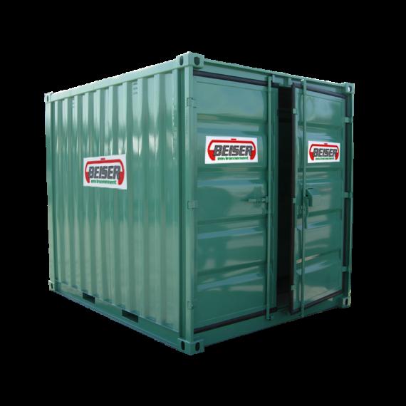 Container de stockage mod le lc 8 10 m3 containers de for Batiment container