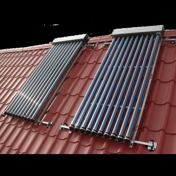 chauffe eau solaire tubulaire 2 panneaux 3 42 m chauffe