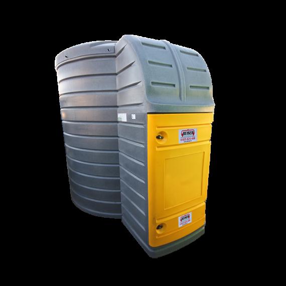 Station fuel verticale double paroi 10000 litres avec pompe immergée