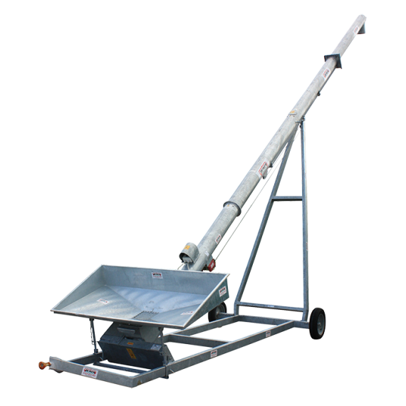 Vis à grains sur chariot 12 m Ø 250