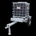 Beiser Environnement - Cubi 1000 litres sur châssis galvanisé - Profil