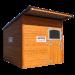 Beiser Environnement - Box à chevaux en bardage bois - Fermé