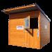 Beiser Environnement - Box à chevaux en bardage bois - Face