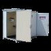 Beiser Environnement - Vente de Citerne Fuel Fioul Azote Engrais - SaS Préventif en kit Mobile 8m3 - Vue de profil avec ouverture