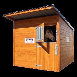 Pferde Holzbox