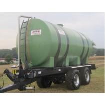 Citerne polyester sur châssis agraire, capacité 20 000 litres