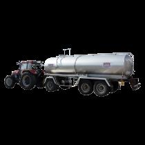 Citerne inox 16500 litres sur chassis origine 3 essieux - Occasion 4