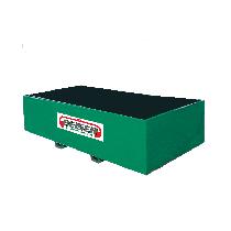 Bac de rétention métallique 4000 litres