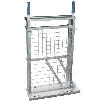 Porte coulissante latérale pour couloir de contention mouton