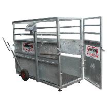 Cage de pesage pour petit bétail