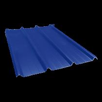 Tôle nervurée 45-333-1000, 60/100e bleu ardoise - 7,5 m
