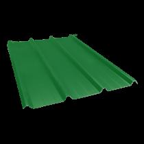 Tôle nervurée 45-333-1000, 60/100e vert reseda - 5,5 m