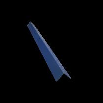 Angle de bardage 100/100, bleu ardoise RAL5008