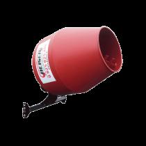 Bétonnière 3 points hydraulique rouge avec cardan