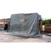 Bâche de wagon d'occasion 18 x 2 mètres