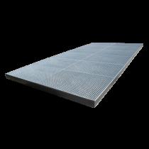 Pulvé bac 12 x 3.50 x 0.15 m (Lxlxh) - capacité 6300 Litres