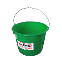 Seau vide 20 litres en PVC sans couvercle