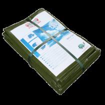 Bâche de protection 10m x 15m – 150g (avec œillet et ourlet)