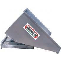 Benne basculante galvanisée 1500 litres